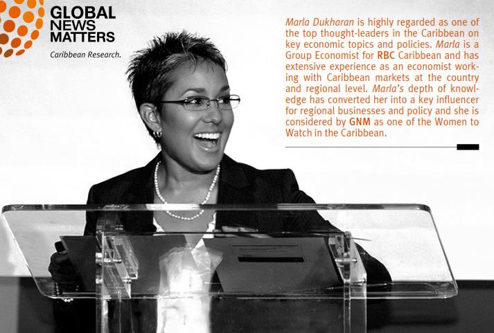 Caribbean Economist Marla Dukharan
