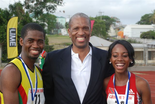 From Left: Guyanese national Cleveland Forde , Assistant Secretary General Human and Social Development CARICOM Secretariat and  Trinidad and Tobago's Tonya Nero
