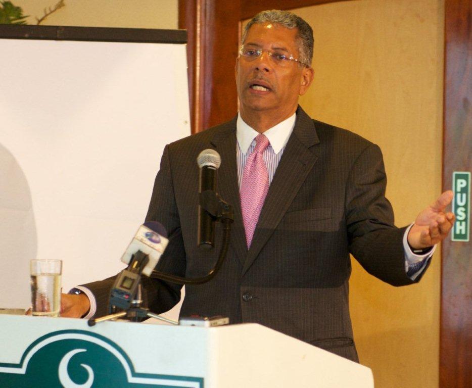 CEO of the Caribbean Development Fund (CDF) Ambassador Lorne McDonnough.