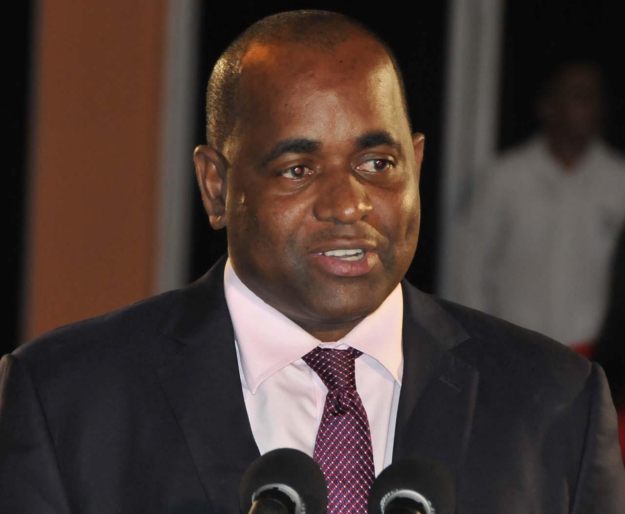 Hon. Roosevelt Skerrit Prime Minister Of Dominica