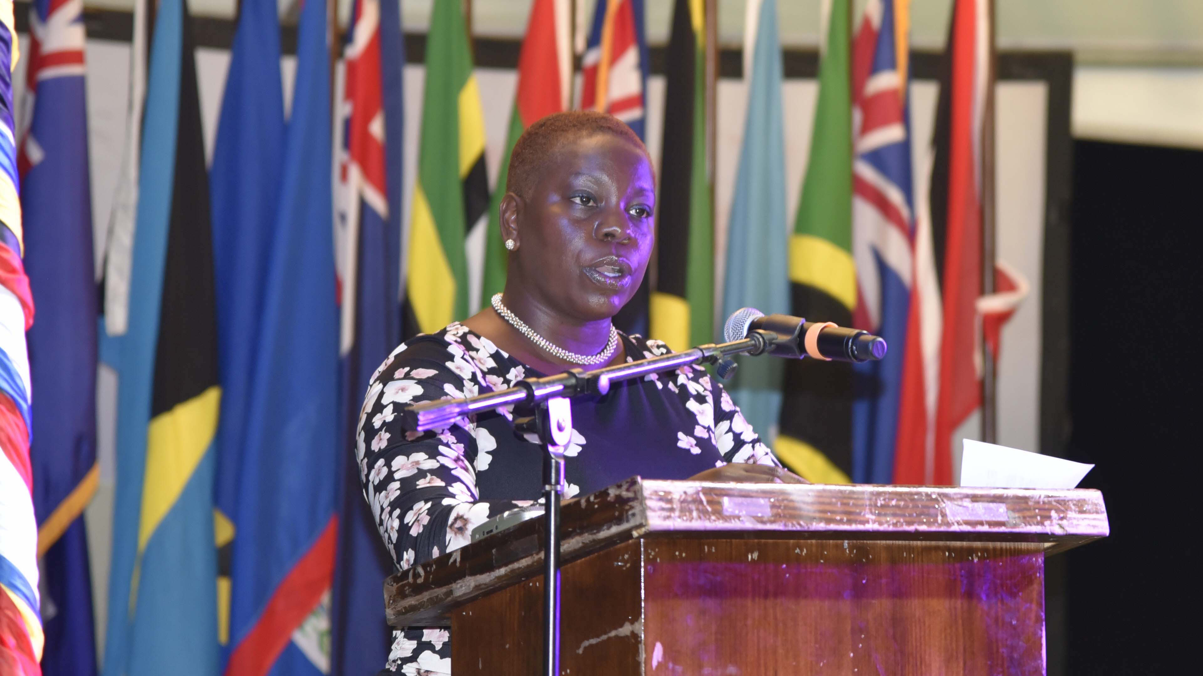 Honourable Samantha Marshall Minister of Social Transformation, Human Resource Development, Gender and Youth Affairs