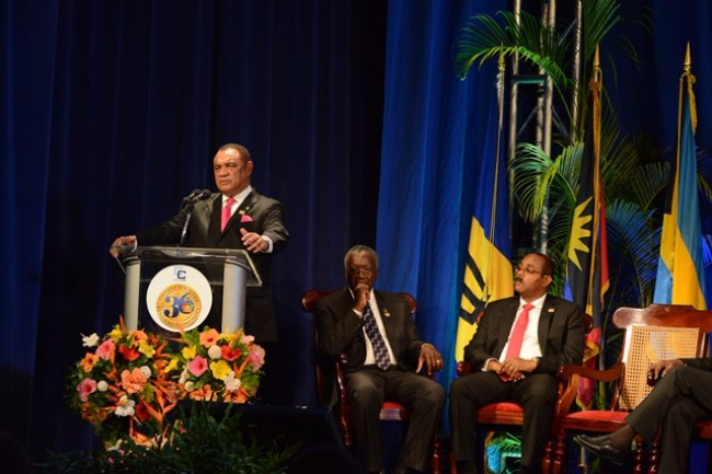 Hon. Perry Christie - Outgoing Chairman