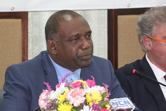 Hon. Oliver Joseph, Minister of Economic Development, Planning, Trade, Cooperatives and International Business of Grenada