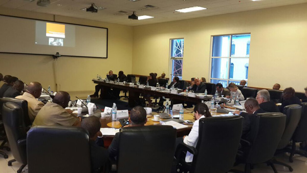 File Photo; Caribbean Basin Security Initiative (CBSI) Working Technical Group on Law Enforcement meeting in the Bahamas in September 2014