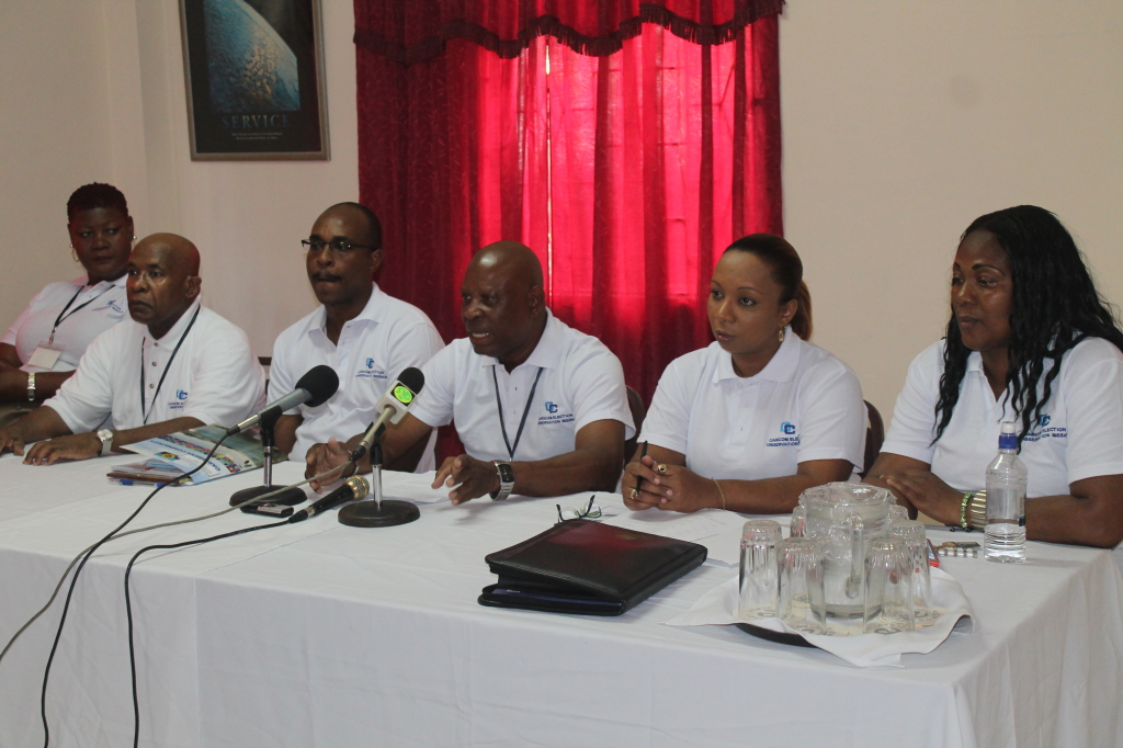 The CARICOM Elections Observer Mission on the ground in St. Vincent and the Grenadines.