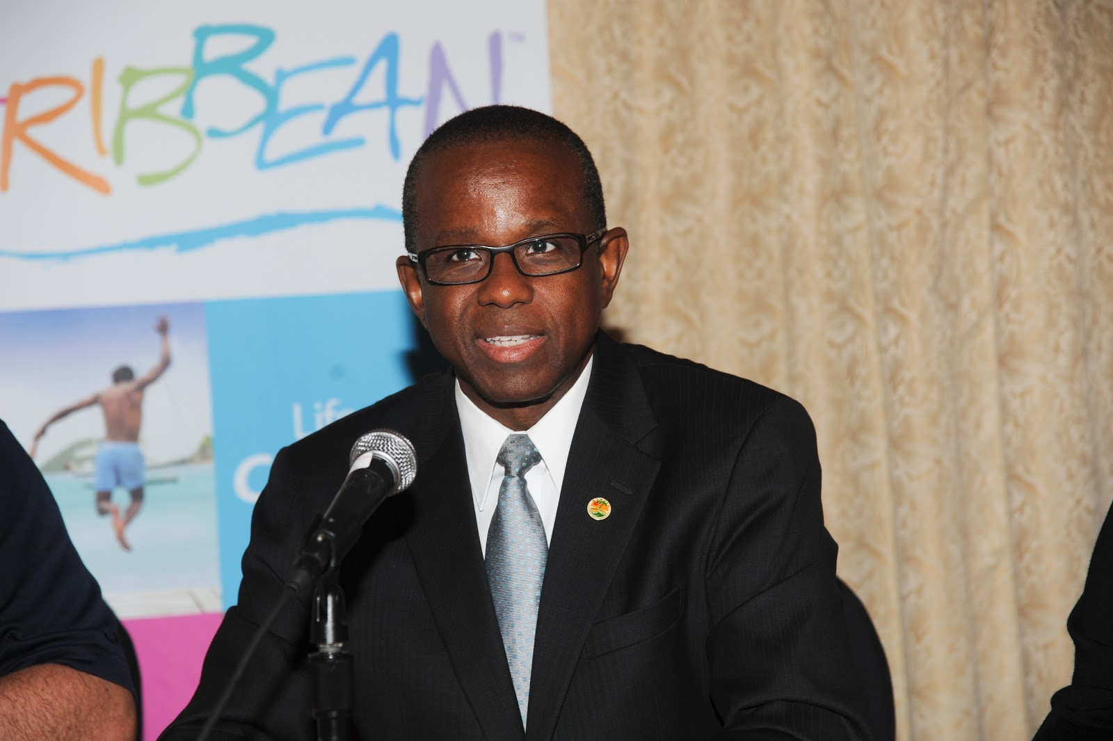 Secretary General of the Caribbean Tourism Organisation (CTO) Hugh Riley