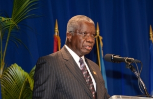 Rt. Hon. Freundel Stuart, Prime Mini ster  of Barbados
