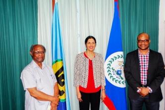 Deputy Secretary General of CARICOM Visits CCCCC
