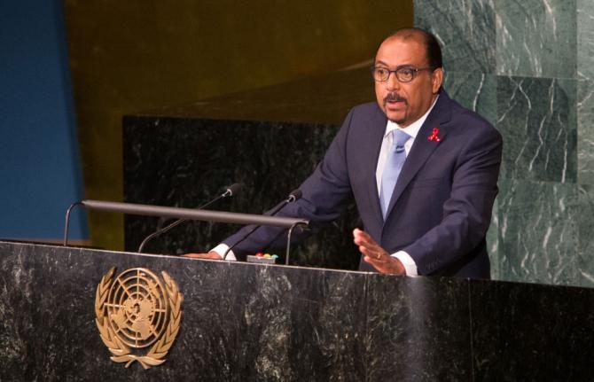 UNAIDS Executive Director Michel Sidibé