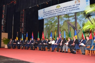 Communiqué issued at the conclusion of The Thirty-Seventh Regular Meeting of the Conference of Heads of Government of the Caribbean Community (CARICOM), 4-6 July 2016, Georgetown Guyana
