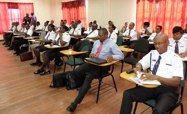 Flashback: Training for Immigration Officials in Guyana