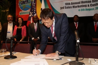 Code of Practice on Safeguarding the Open Internet signed at CANTO 2016
