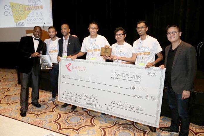 Canto Hackathon winners.