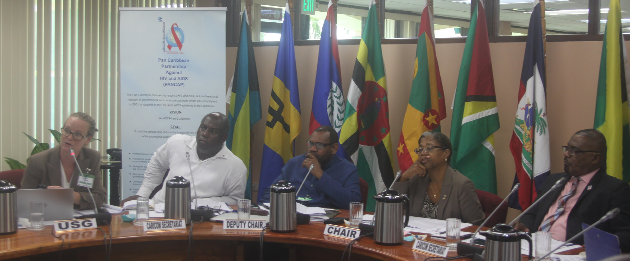 25th Meeting of the Executive Board of PANCAP and the 12th Meeting of the Regional Coordinating Mechanism for the Global Fund Projects – LCR, CARICOM Secretariat (7-8 Sept. 2016)