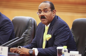 Prime Minster of Antigua and Barbuda, the Hon. Gaston Browne