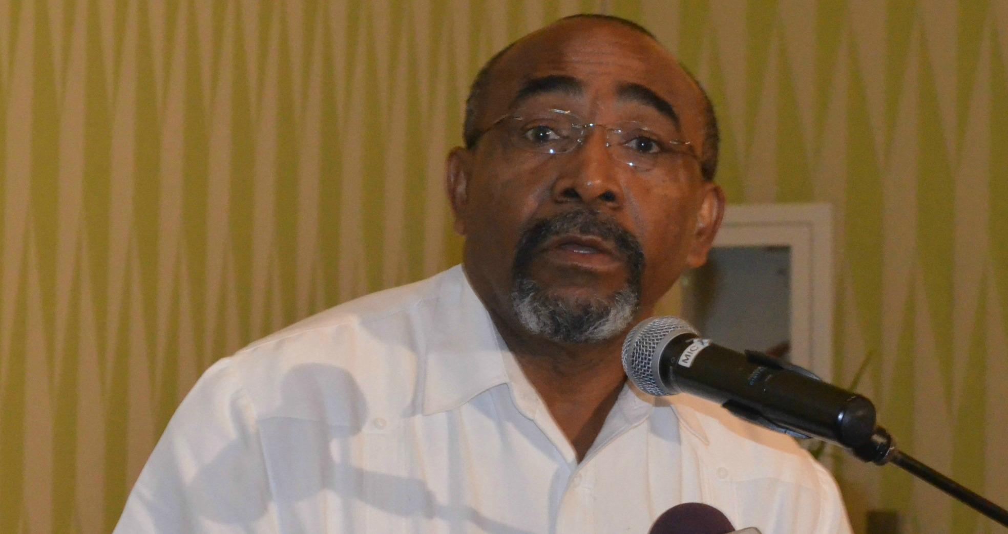 Telecommunications Minister, Senator Darcy Boyce
