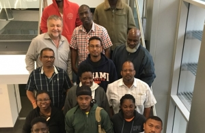 CARICOM nationals arrive in Australia for 4-week fisheries law and management training.