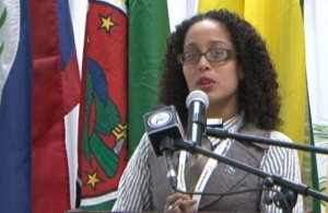 Alisha Ally, a senior staffer at the Saint Lucia Government Information Service and new CARICOM Youth Ambassador for St. Lucia