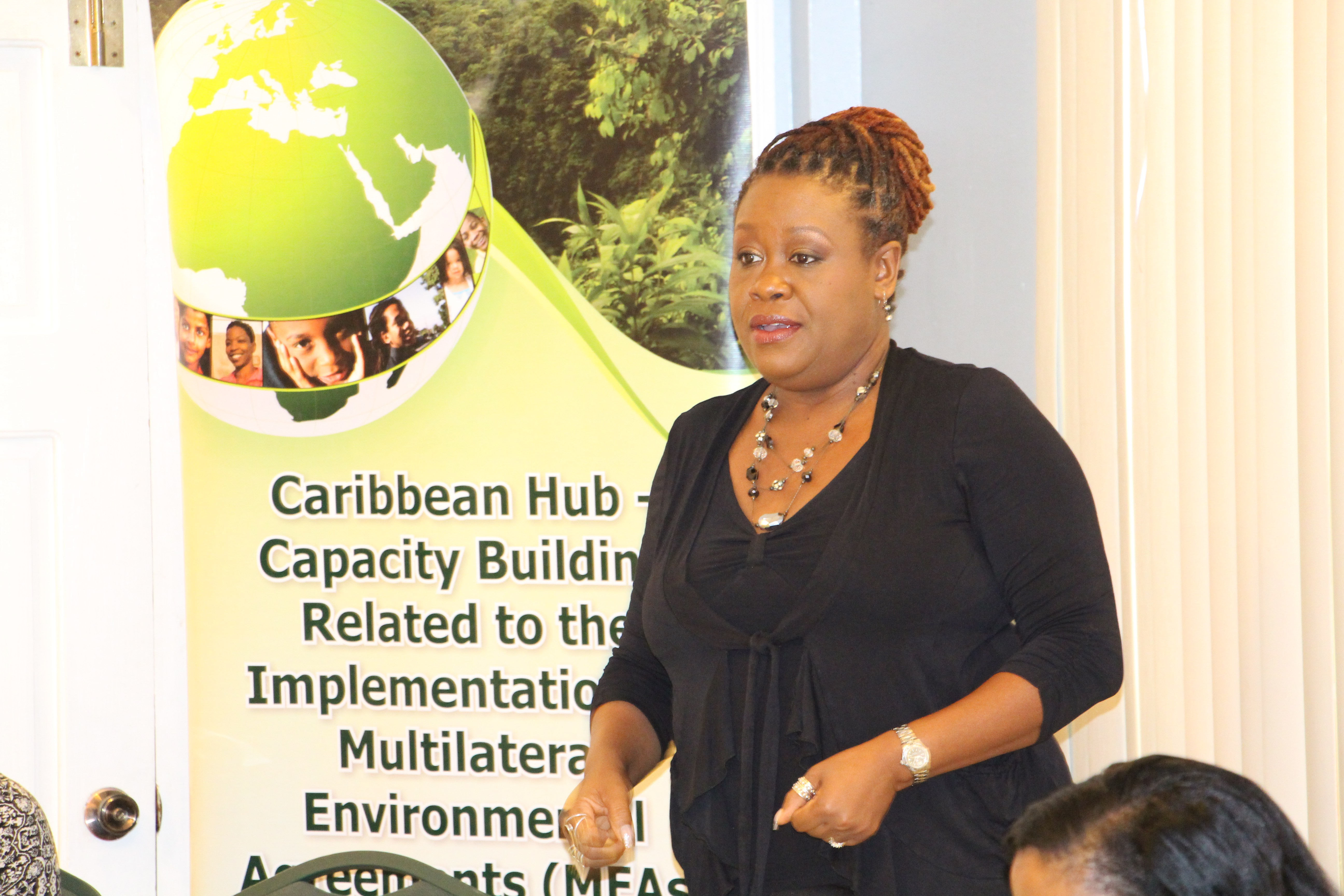 Workshop Facilitator and Lecturer at the UWI Cavehill Janice Cumberbatch