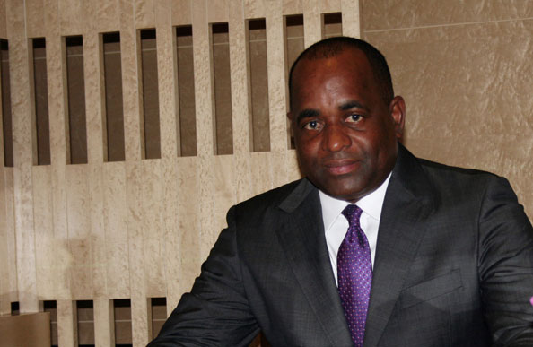 Chair of CARICOM, the Hon Roosevelt Skerrit, Prime Minister of Dominica