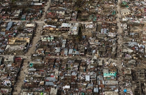 Aftermath of Huricane Matthew in Haiti (credit Getty Images)