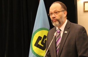 Secretary-General of the Caribbean Community (CARICOM), Ambassador Irwin LaRocque