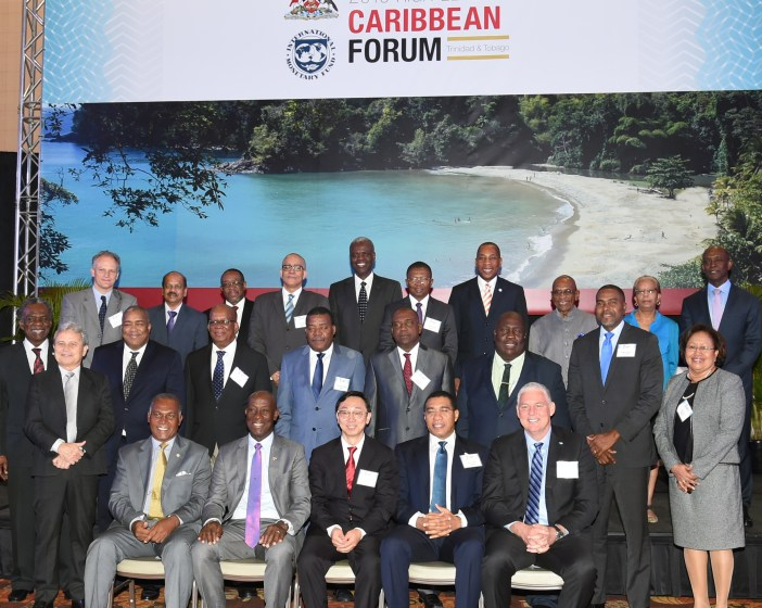 Delegates at the International Monetary Fund (IMF) 2016 High Level Caribbean Forum.