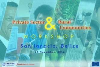 Belize's Private Sector and Agricultural Producers Get More CSME-Aware