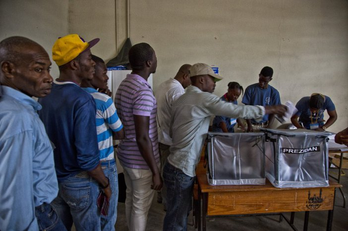 Haitians voting on Sunday