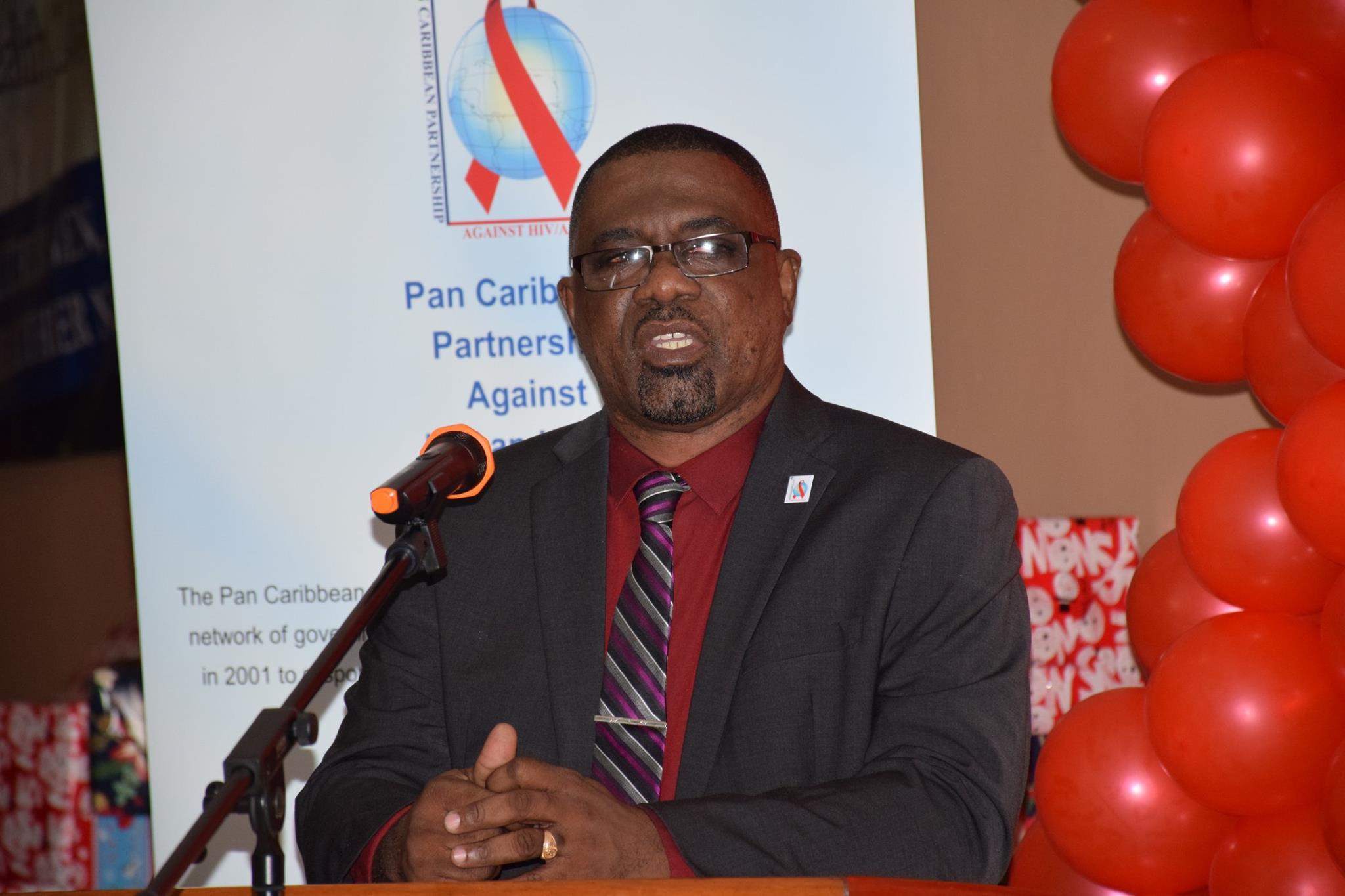 Director, PANCAP Coordinating Unit CARICOM Secretariat Dereck Springe