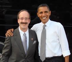 Representative Eliot L. Engel (D-NY) with President Barack Obama