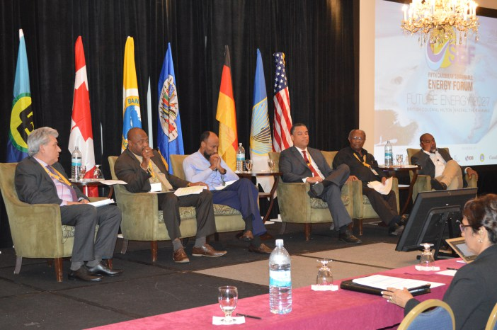 CSEF V panelists during the final discussion