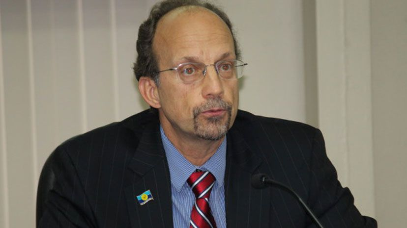 Executive Director of CARPHA, Sir James Hospedales