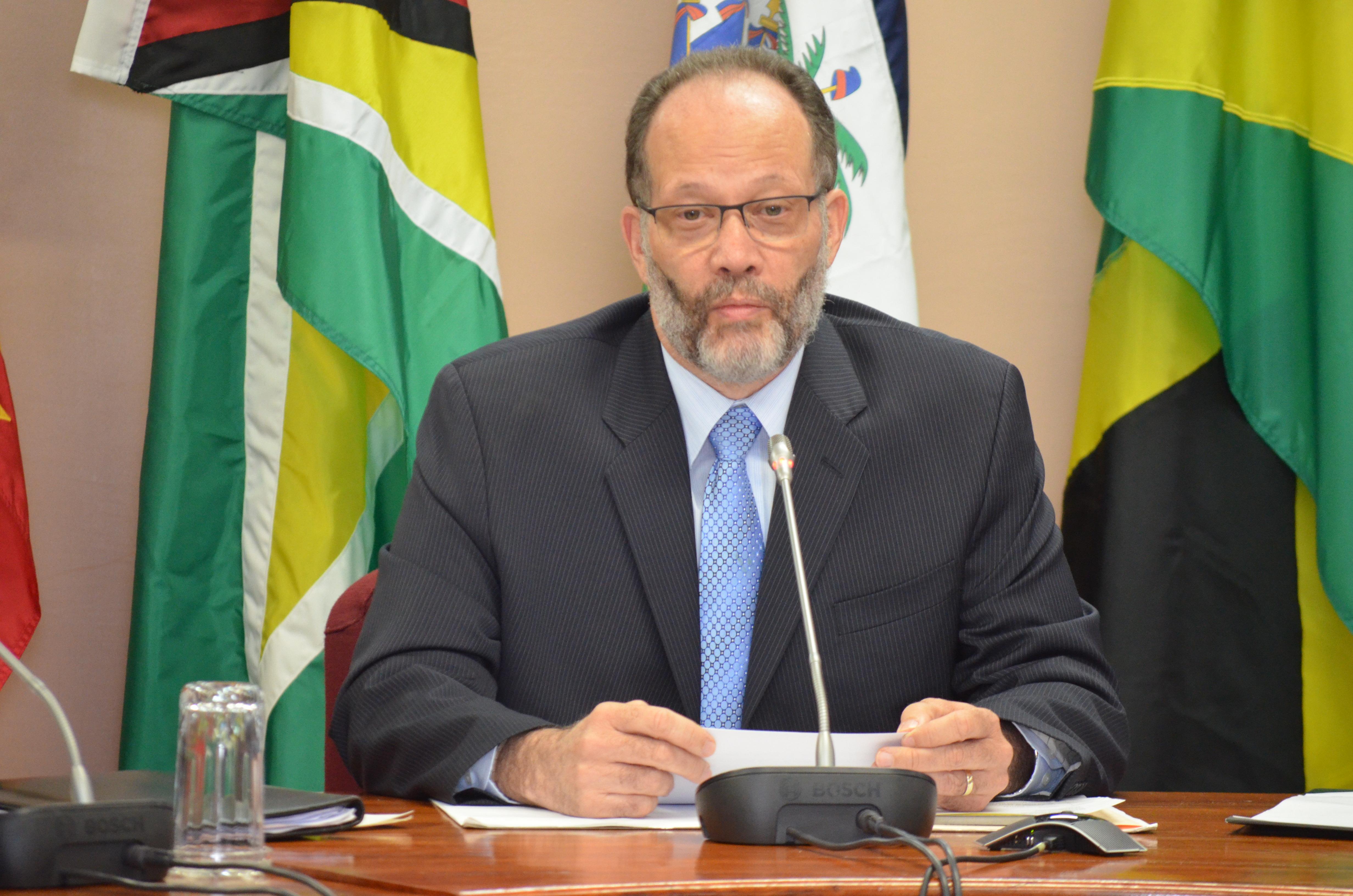 CARICOM Secretary General, Ambassador Irwin LaRocque