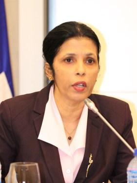 CARICOm Secretariat, Deputy Secretary-General, Dr. Manorma Soeknandan