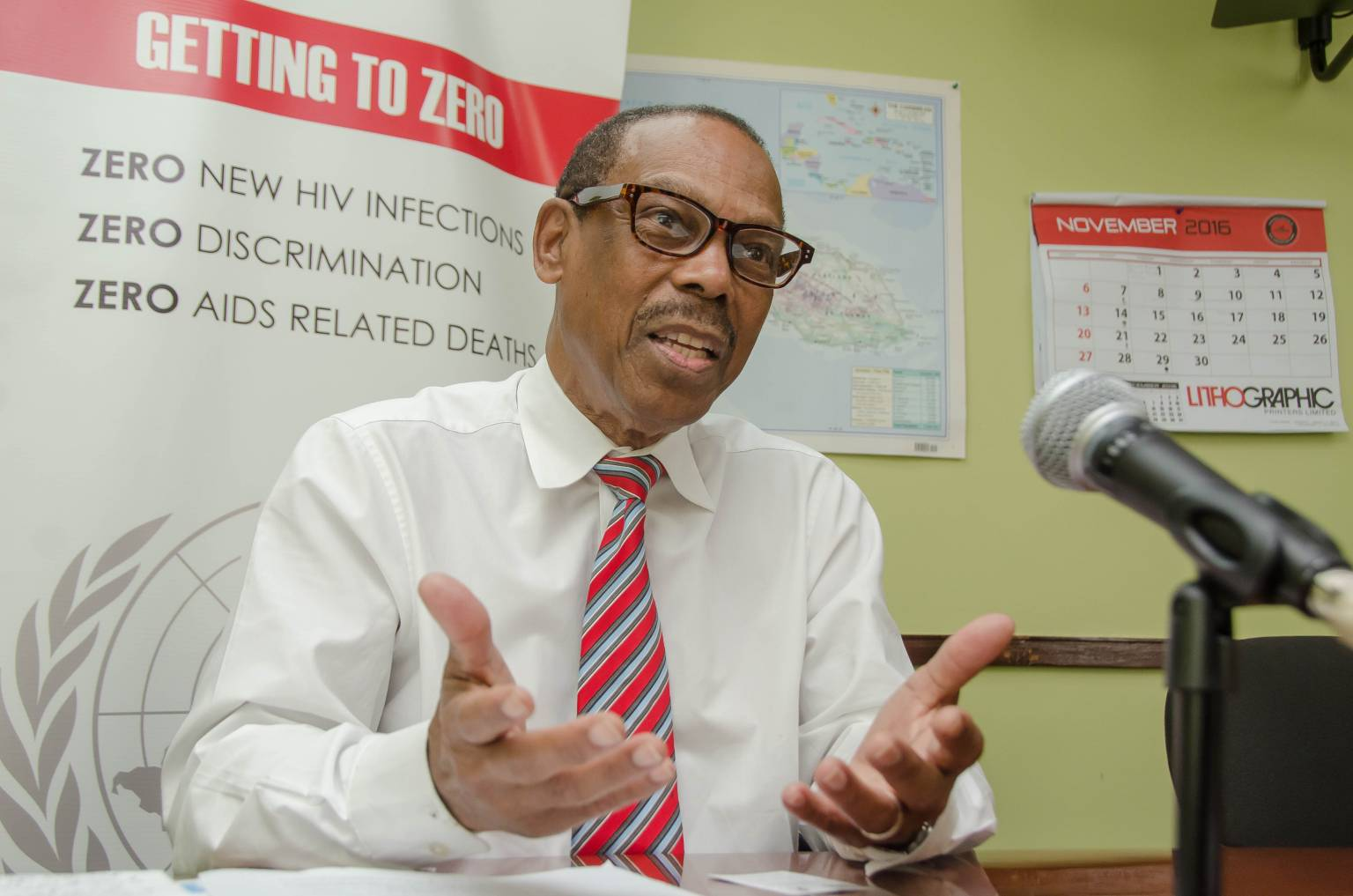 Dr. Edward Greene, United Nations Special Envoy for HIV and AIDS in the Caribbean