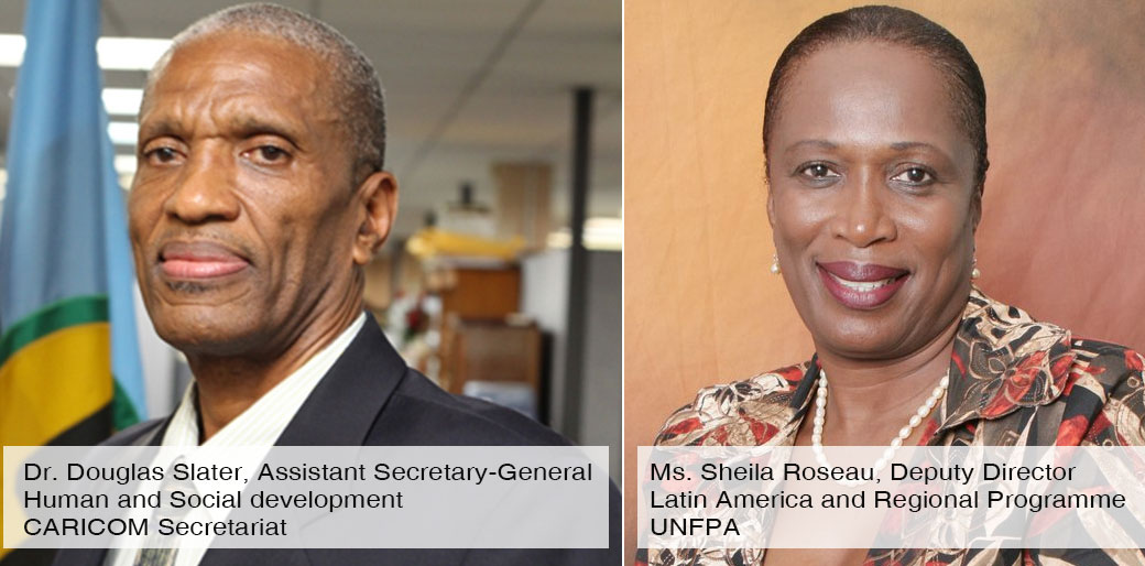 Co-Chairs of the Every Caribbean Woman Every Caribbean Child Initiative