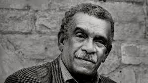 Sir Derek Walcott (Photo via the New York Times)
