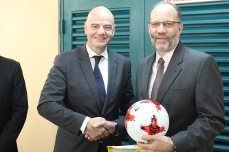 CARICOM SG meets with FIFA President - says sports a valuable investment in Youth