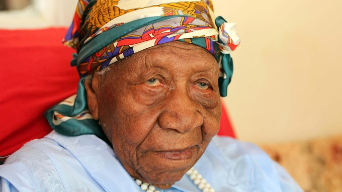 Violet Brown is thought to be the world's oldest human. Credit: AP