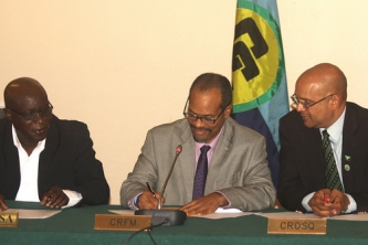 Strengthening Cooperation – three Caribbean Community Institutions sign MOU