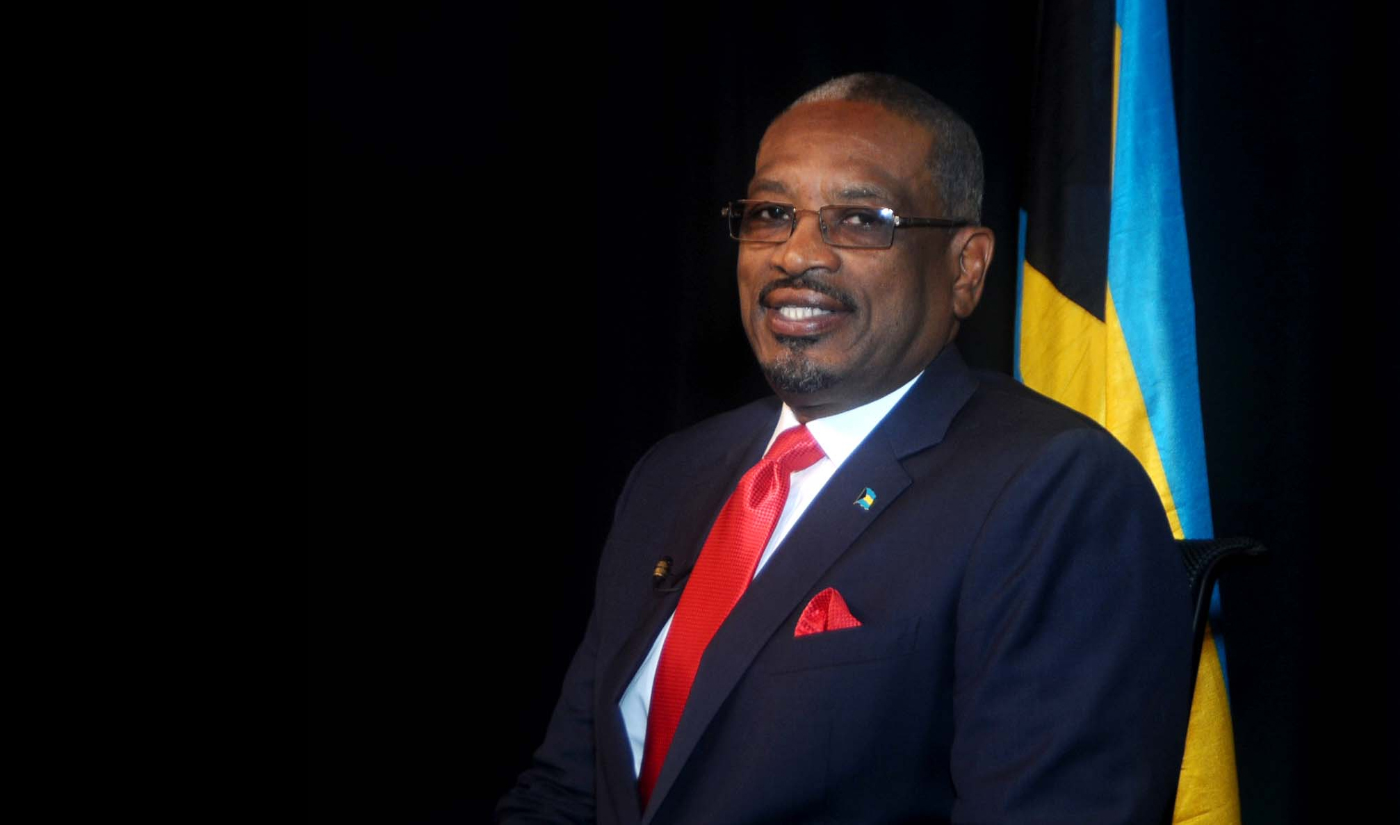 Prime Minister elect Dr. Hubert Minnis
