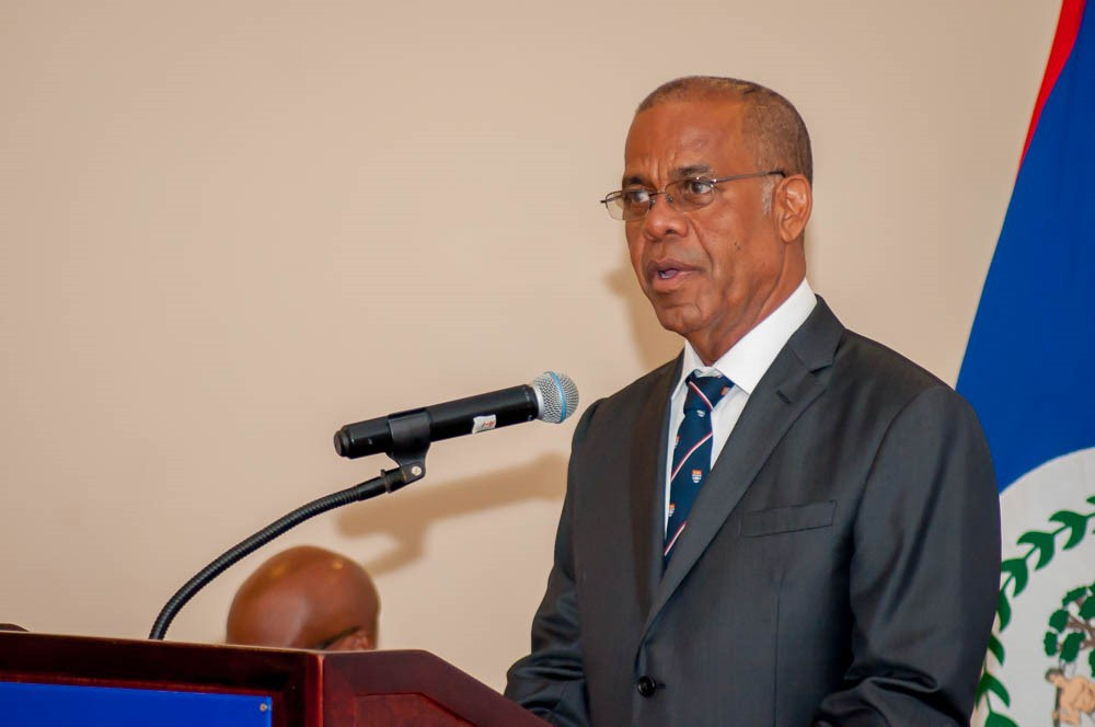 The newly appointed CCJ Judge; Hon. Mr. Justice Denys Barrow