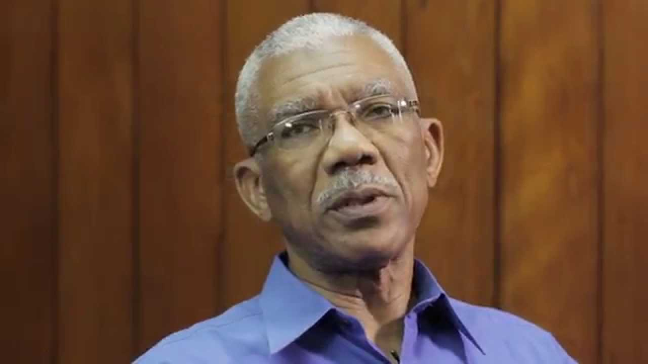 Chairman of CARICOM, President David Granger of Guyana