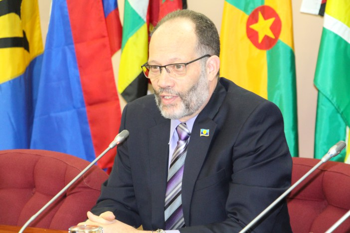 Secretary General of the Caribbean Community Ambassador Irwin LaRocque