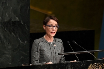 Address by Jamaica's Minister of Foreign Affairs and Foreign Trade Hon. Kamina Johnson Smith to the Plenary Session of the UN Oceans Conference, Tuesday 6 June
