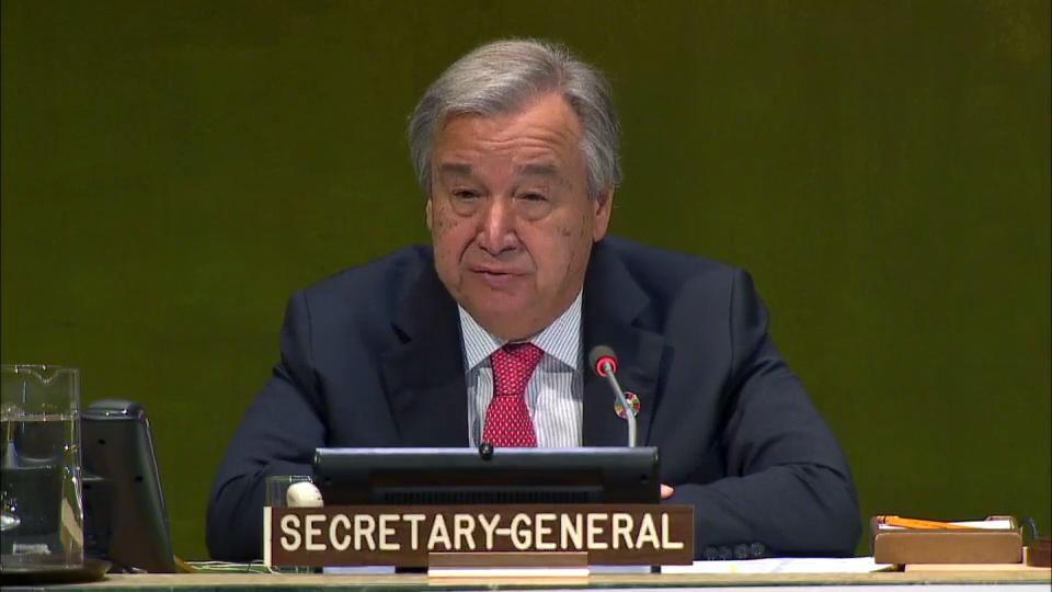 United Nations Secretary - General António Guterres