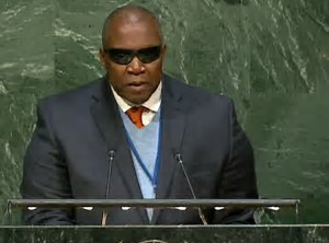 Antigua and Barbuda's presentation to the Plenary - UN Oceans Conference