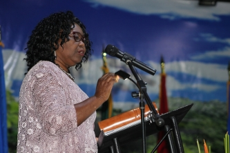Twelfth  CARICOM Triennial Woman Awardee calls for support to reduce the scourge of violence against women and girls