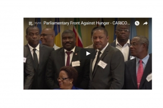Parliamentarians fighting against hunger in Latin America, Caribbean